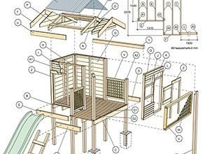 doe het zelf bouwtekening steigerhout