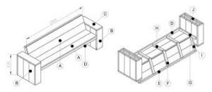 Zelf steigerbank houtenbank maken