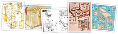 Steigerhout meubelen bouwtekening.