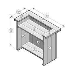 bouwtekening steigerhout meubelen