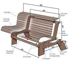 Zelf zitbank maken.