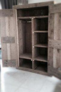Bank van steigerhout maken