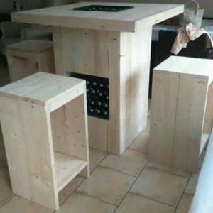 Eigen meubels maken.