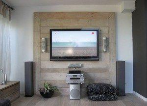 tv kast steigerhout zelf maken.