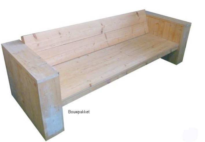 Steigerhouten meubels,
